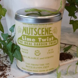 Tin of Twine - lime